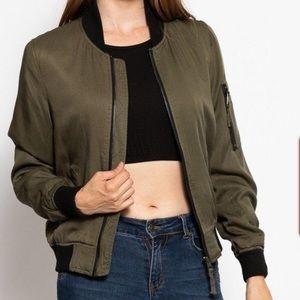 Jackets & Blazers - Classic varsity jacket bomber zip up coat